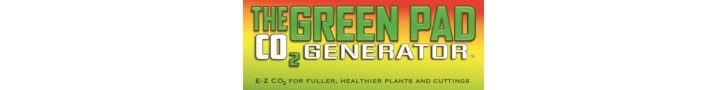 The Green Pad CO2 Generator Logo
