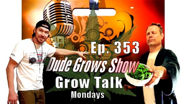 Dude Grows Show 353 Growing Marijuana Grow Talk